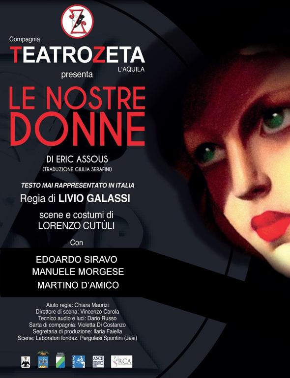finest selection 1b464 cf77d Le nostre donne - Teatrozeta